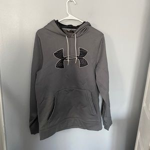 Under Armour gray performance hoodie S